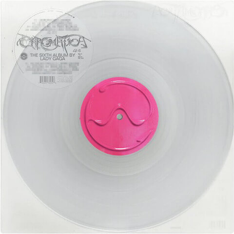√CHROMATICA EXCLUSIVE TRANSPARENT VINYL von Lady Gaga - LP jetzt im Bravado Shop