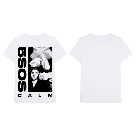 √White CALM von 5 Seconds of Summer - T-Shirt jetzt im Bravado Shop