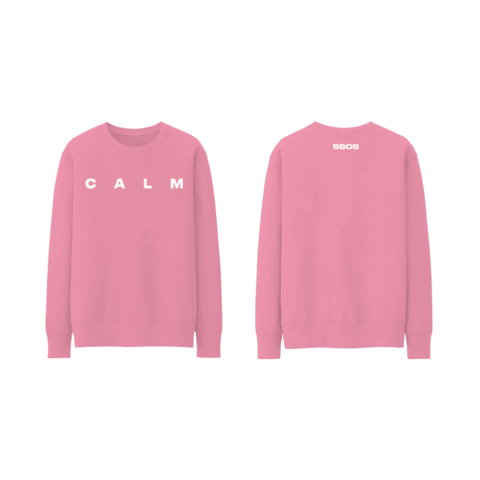 √Pink CALM von 5 Seconds of Summer - Sweater jetzt im Bravado Shop