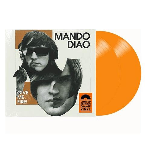 √Give Me Fire (Ltd. Coloured LP) von Mando Diao - 2LP jetzt im Bravado Shop
