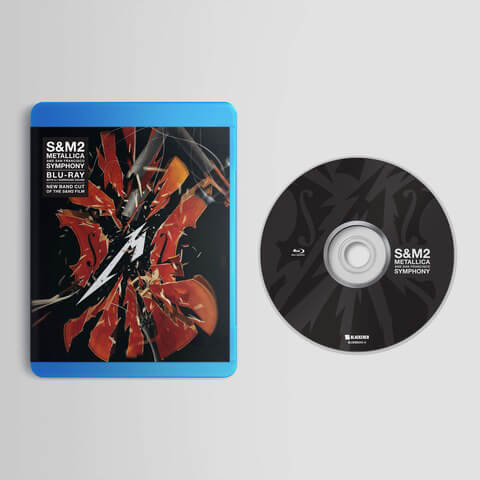√S&M2 von Metallica - BluRay jetzt im Bravado Shop