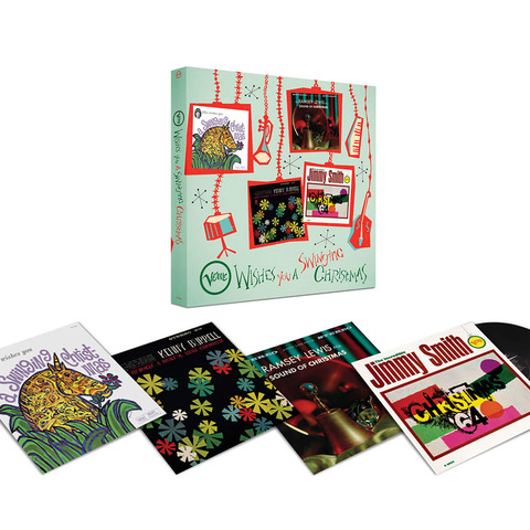Verve Wishes You A Swinging Christmas! (4LP Boxset) von Various Artists - LP-Boxset jetzt im Bravado Shop