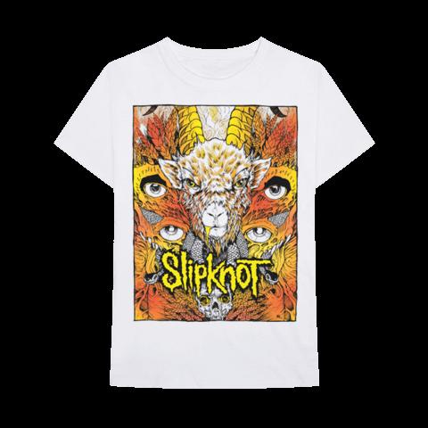 √Gold Foil Goat von Slipknot - T-Shirt jetzt im Bravado Shop