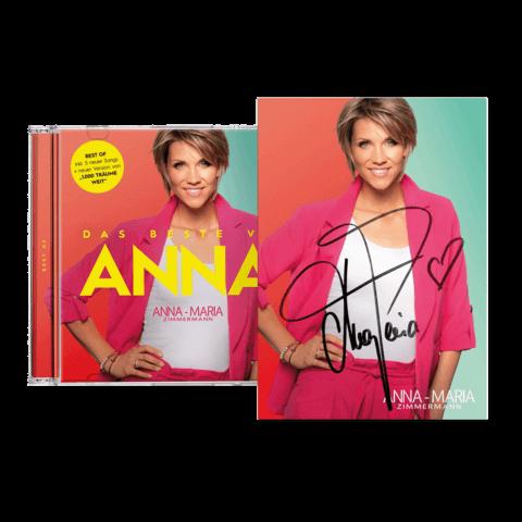 Das Beste von Anna (CD + handsignierte Autogrammkarte) von Anna-Maria Zimmermann - CD jetzt im Bravado Shop