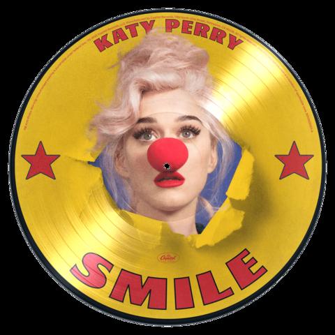 Smile (Ltd. Picture Disc Vinyl) von Katy Perry - LP jetzt im Bravado Shop