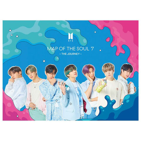√MAP OF THE SOUL: 7  The Journey  (Ltd. Edition B) von BTS - CD jetzt im Bravado Shop
