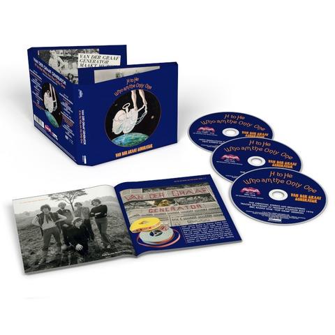 H To He Who Am The Only One (2CD+DVD Remastered) von Van Der Graaf Generator - 2CD+DVD jetzt im Bravado Shop