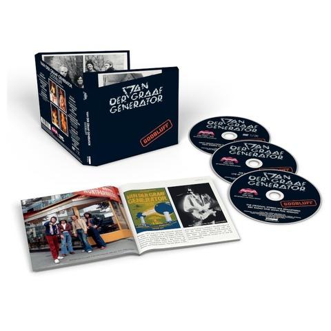 Godbluff (2CD+DVD Remastered) von Van Der Graaf Generator - 2CD+DVD jetzt im Bravado Shop