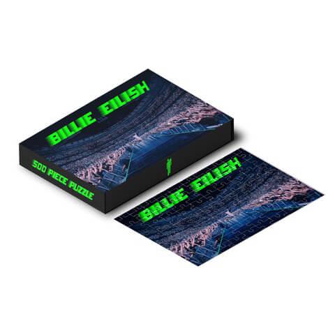 √Billie Eilish Puzzle (500 Teile) von Billie Eilish - Puzzle (500 Teile) jetzt im Bravado Shop