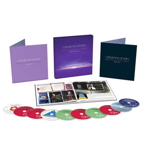 Pilots of Purple Twilight: The Virgin Recordings 1980 - 1983 ( 10CD Boxset ) von Tangerine Dream - Boxset jetzt im Bravado Shop