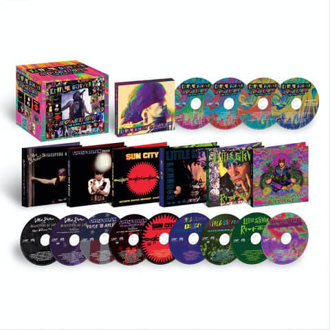 √Rock N Roll Rebel - The Early Work - Career Boxset (Ltd. Edition 10CD/3DVD) von Little Steven & The Disciples Of Soul - Box set jetzt im Bravado Shop