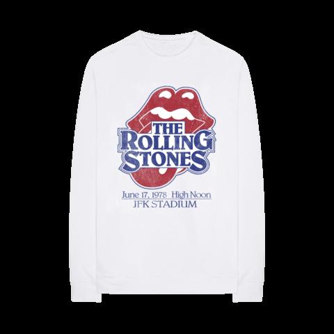 √Vintage JFK Stadium von The Rolling Stones - Crewneck Sweater jetzt im Bravado Shop