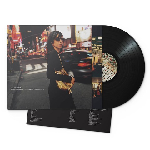 √Stories From The City, Stories From The Sea (180g Black Vinyl) von PJ Harvey - LP jetzt im Bravado Shop