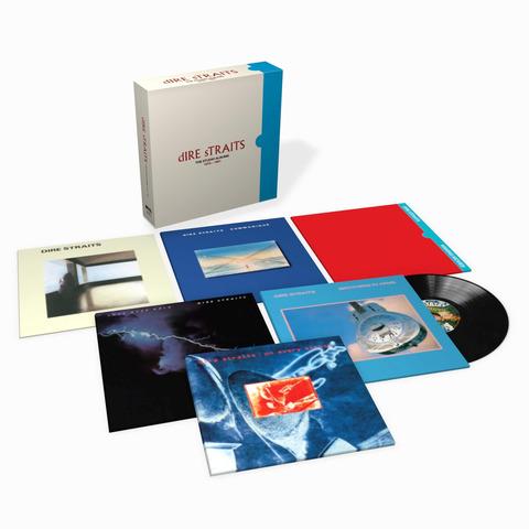 √The Studio Albums 1978 - 1991(Ltd. 8LP Boxset) von Dire Straits - Box set jetzt im Bravado Shop