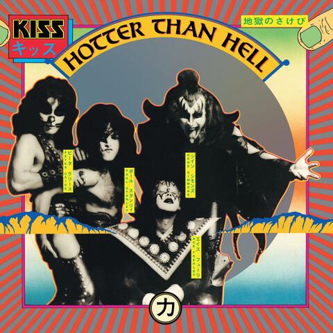 √Hotter Than Hell (German Vinyl Edition) von Kiss - LP jetzt im Bravado Shop