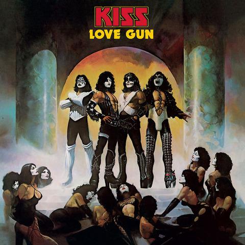 √Love Gun (German Vinyl Edition) von Kiss - LP jetzt im Bravado Shop