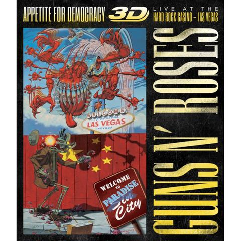 √Appetite For Democracy: Live (Ltd. BR+2CD Boxset) von Guns N' Roses - Box set jetzt im Bravado Shop