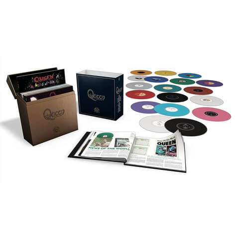 √Complete Studio Album LP Col.(LTD Coloured LP-Box) von Queen - LP jetzt im Bravado Shop