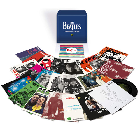 The Singles Collection (Ltd. 7'' Vinyl Boxset) von The Beatles - Boxset jetzt im Bravado Shop