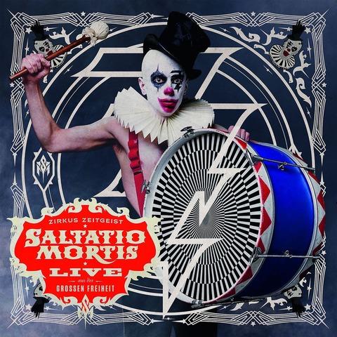 Zirkus Zeitgeist-Live Aus Der Großen Freiheit von Saltatio Mortis - CD jetzt im Bravado Shop