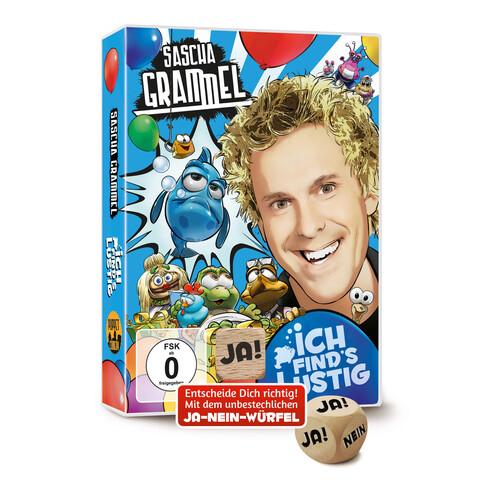 Ich Find's Lustig (Doppel-DVD Mit Ja-Nein-Würfel) von Grammel,Sascha - DVD-Video Album jetzt im Bravado Shop