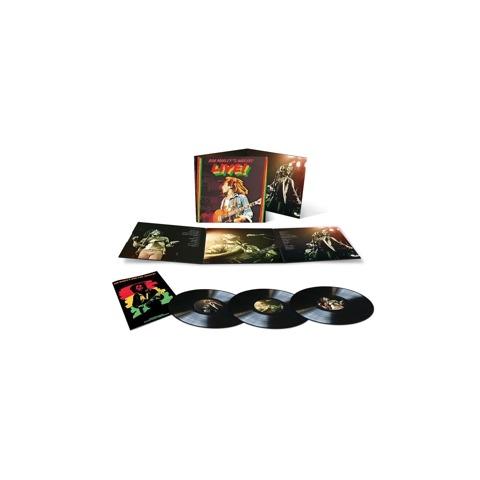 Live (Ltd Deluxe 3LP) von Bob Marley & The Wailers - 3LP jetzt im Bravado Store