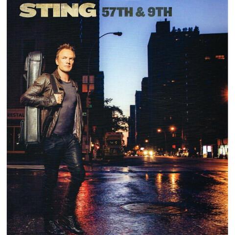 57TH & 9TH (Black Vinyl) von Sting - LP jetzt im Bravado Store