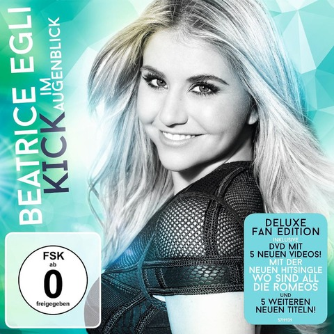 Kick Im Augenblick (Deluxe Fan Edition CD+DVD) von Beatrice Egli - CD+DVD jetzt im Bravado Shop