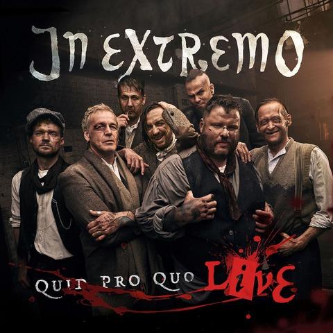 Quid Pro Quo-Live- von In Extremo - CD jetzt im Bravado Shop