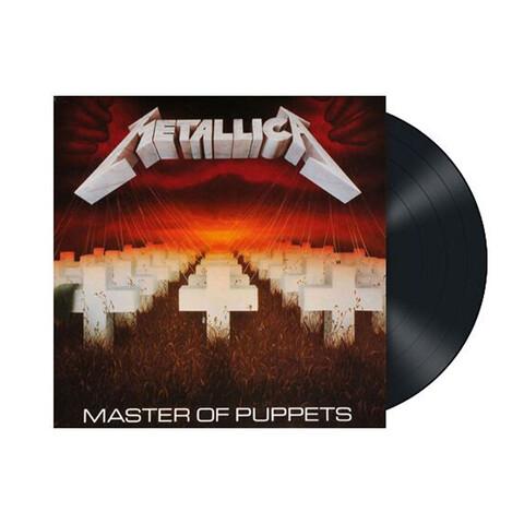 Master of Puppets (Remastered - 180g Vinyl) von Metallica - LP jetzt im Bravado Shop