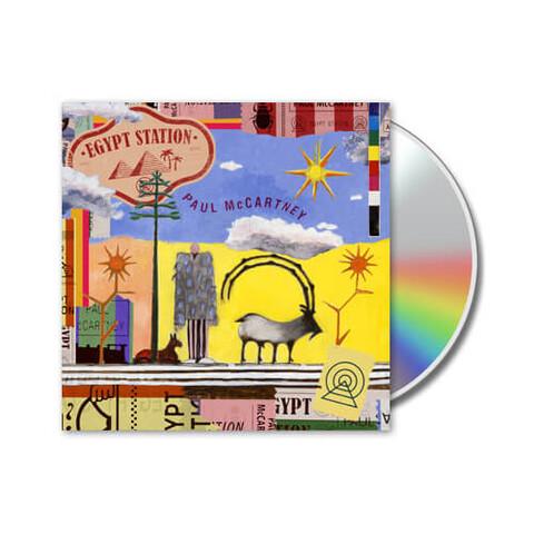 √Egypt Station von Paul McCartney - CD jetzt im Bravado Shop