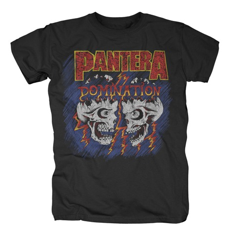 Domination Skulls von Pantera - T-Shirt jetzt im Bravado Shop