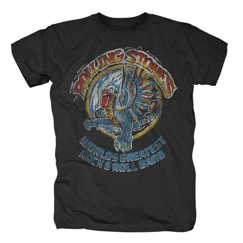 √Vintage Dragon von The Rolling Stones - T-Shirt jetzt im Bravado Shop