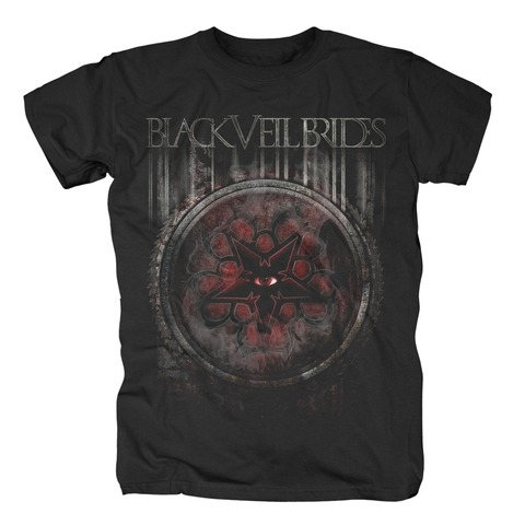Rusted von Black Veil Brides - T-Shirt jetzt im Bravado Shop