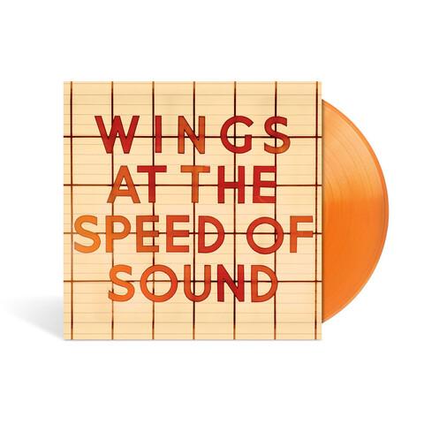 At The Speed Of Sound (Ltd./Excl. Orange Vinyl) von Wings - LP jetzt im Bravado Shop