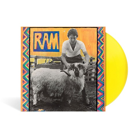 RAM (Ltd./Excl. Yellow Vinyl) von Paul & Linda McCartney - LP jetzt im Bravado Shop