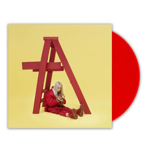 √dont smile at me (Red LP) von Billie Eilish - LP jetzt im Bravado Shop