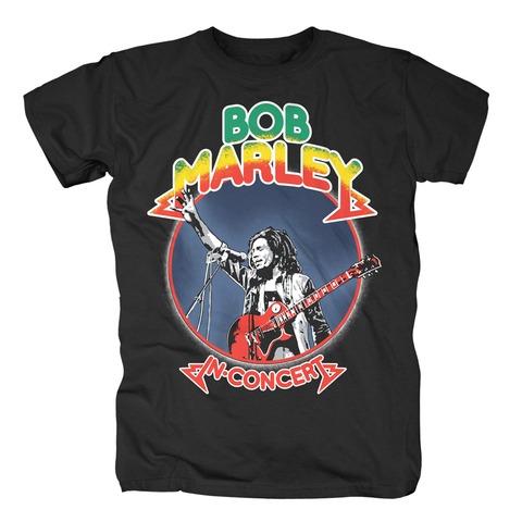 √Rasta In Concert von Bob Marley - T-Shirt jetzt im Bravado Shop