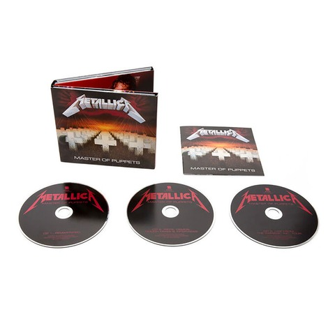√Master Of Puppets (Remastered Expanded Edition) von Metallica -  jetzt im Bravado Shop