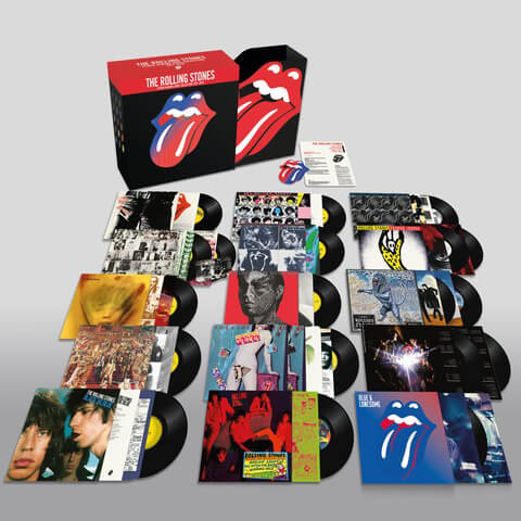√The Rolling Stones: Studio Albums Vinyl Collection 1971 - 2016 von The Rolling Stones - LP jetzt im Bravado Shop