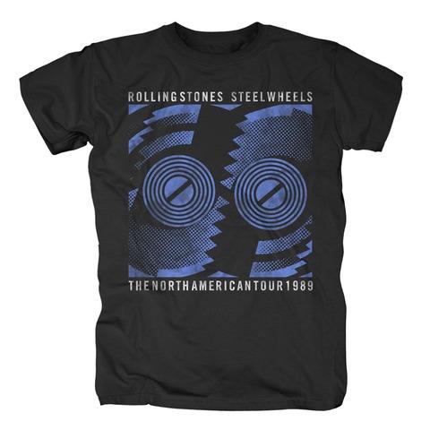 √Steel Wheels Tour 1989 von The Rolling Stones - T-Shirt jetzt im Bravado Shop