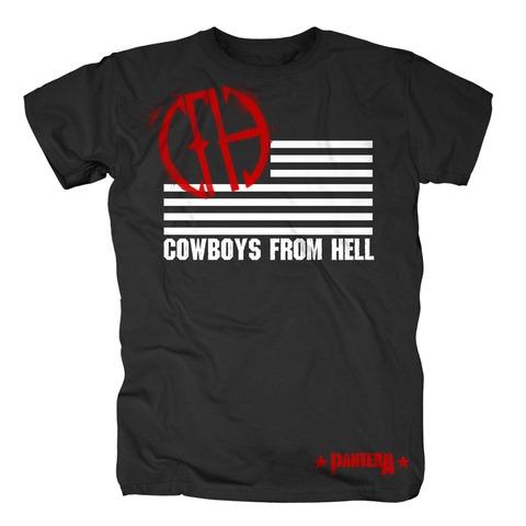 √CFH Flag von Pantera - T-Shirt jetzt im Bravado Shop
