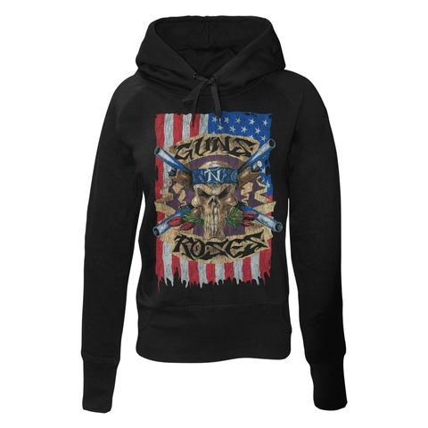 Skull Flag von Guns N' Roses - Girlie Kapuzenpullover jetzt im Bravado Shop