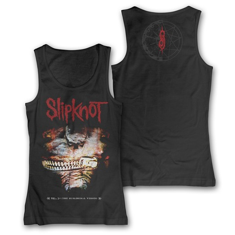 √The Subliminal Verses Album Cover von Slipknot - Girlie Top jetzt im Bravado Shop