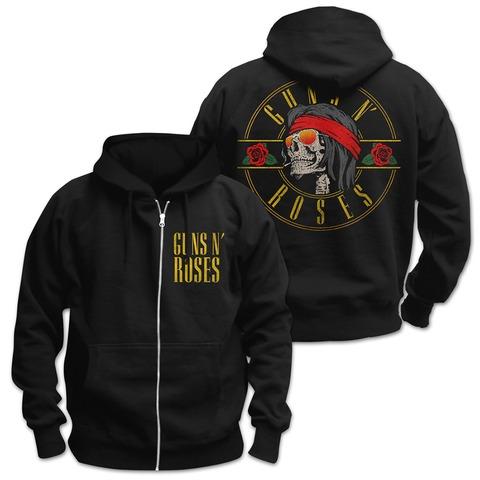 √Skull N Shades von Guns N' Roses - Hooded jacket jetzt im Bravado Shop
