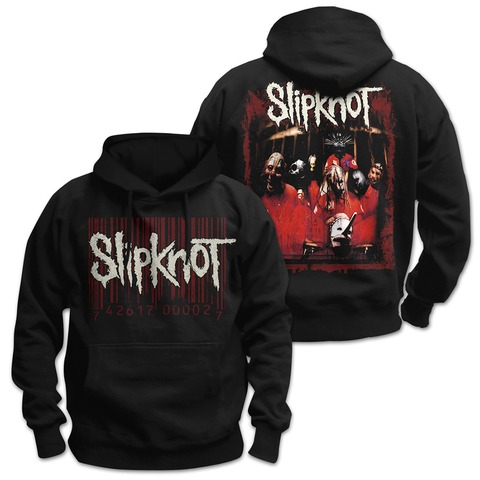 √Debut Album Cover von Slipknot - Kapuzenpullover jetzt im Bravado Shop