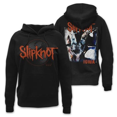 √Iowa Album Cover von Slipknot - Girlie Kapuzenpullover jetzt im Bravado Shop