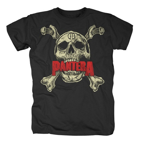 √Skull von Pantera - T-Shirt jetzt im Bravado Shop
