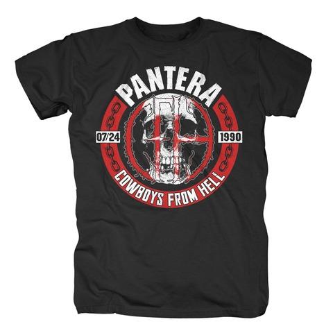 √Skull Circle von Pantera - T-Shirt jetzt im Bravado Shop