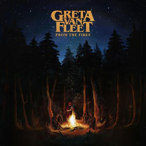 √From The Fires von Greta Van Fleet - CD jetzt im Bravado Shop